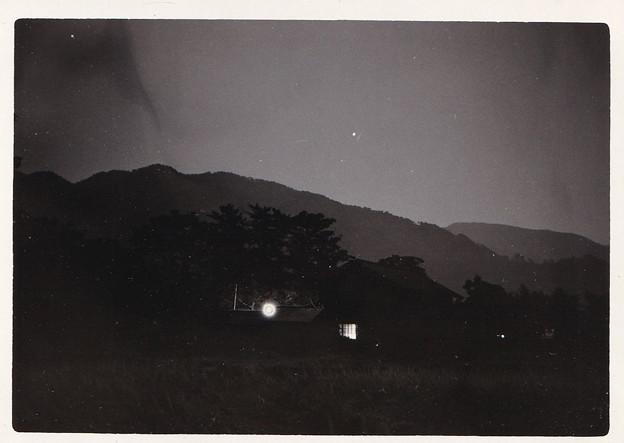 半世紀程前の夜空写真