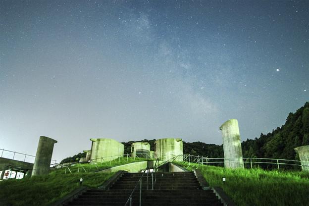 縄文博物館と天の川