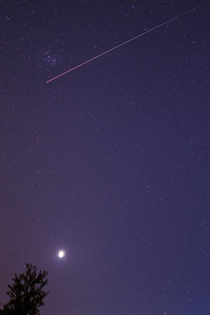 金星とISS