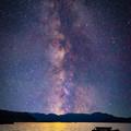 Photos: 天の川と三方湖