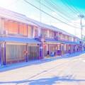 Photos: 北国街道を新海誠監督風に