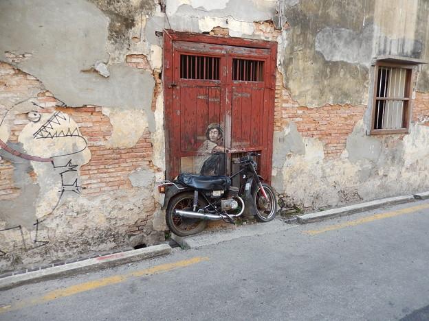 ストリートアート-Georgetown,Penang