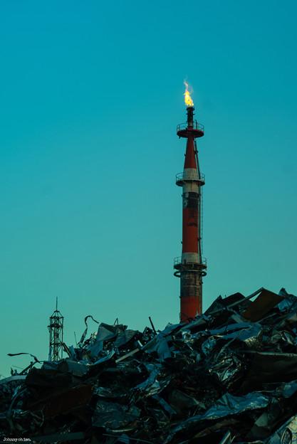 Photos: 工場の炎