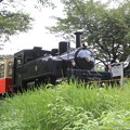 写真: SL風ディーゼル機関車