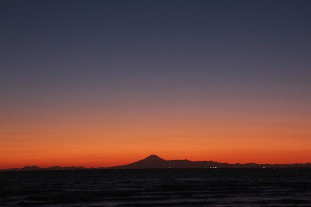 東京湾の夕景