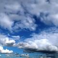 Photos: 台風上陸前日の雲