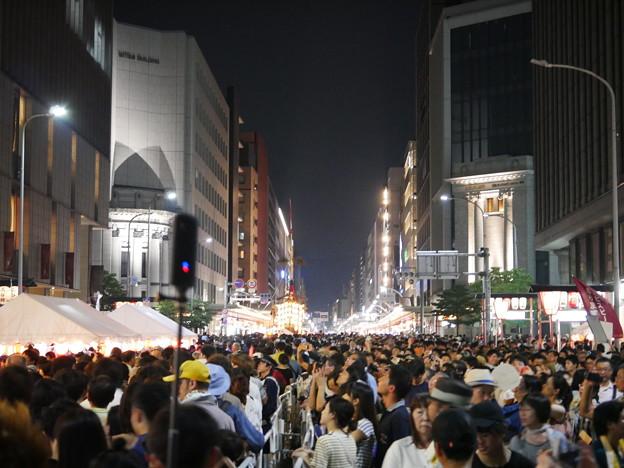 凄い人混み 祇園祭2018