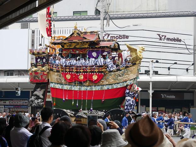 写真: 船鉾 横 祇園祭2018