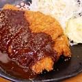 Photos: 味噌かつ定食