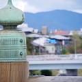 Photos: 三条大橋の欄干