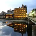 Photos: 鴨川の鏡面