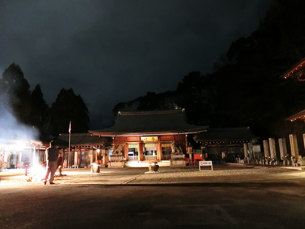 霊山護国神社 年越し2020 01
