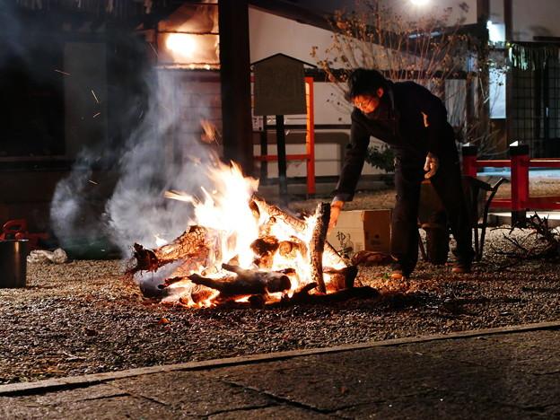 霊山護国神社 年越し2020 02
