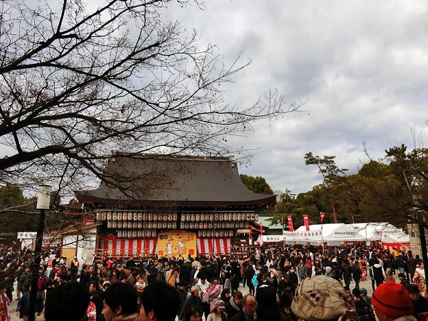 初詣2020 八坂神社 02