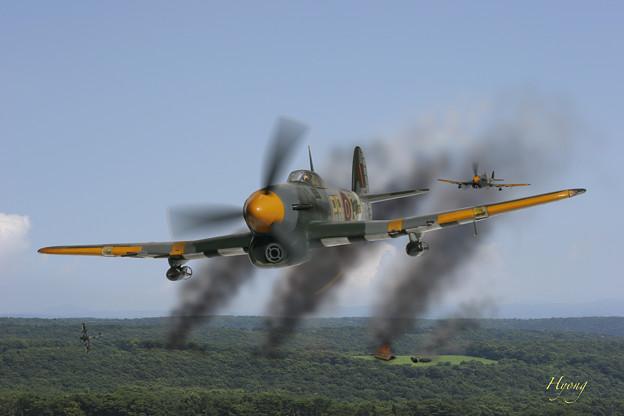 ジョンブル台風 Hawker Typhoon