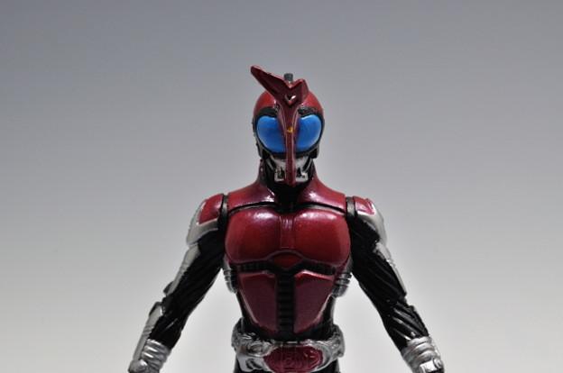 バンダイ_HG GALLERY 平成ライダー セレクション後編 仮面ライダーカブト ライダーフォーム_006