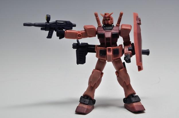 バンダイ_HGシリーズ シャア・アズナブルコレクション 機動戦士ガンダム ギレンの野望 RX-78 C-A ガンダム_001