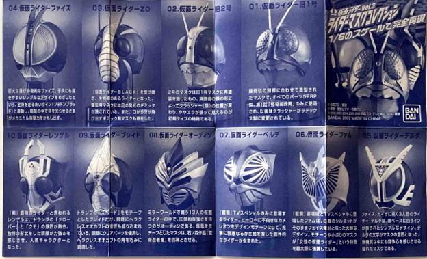 バンダイ_仮面ライダーマスクコレクション Vol.3 仮面ライダー555 仮面ライダーデルタ_006