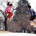 Photos: ジャンプ!