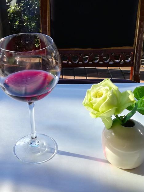 ワインとバラと・・・