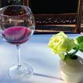 Photos: ワインとバラと・・・