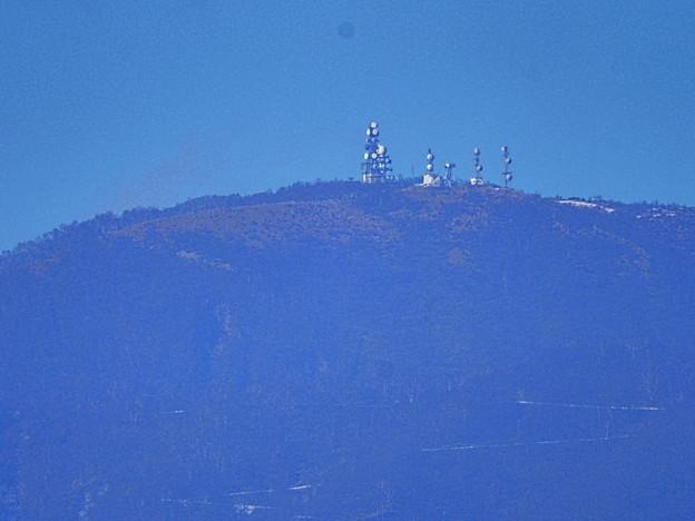 赤城山の電波塔