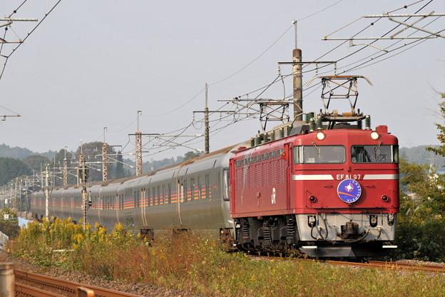 EF81-97 カシオペア 東北本線 蒲須坂