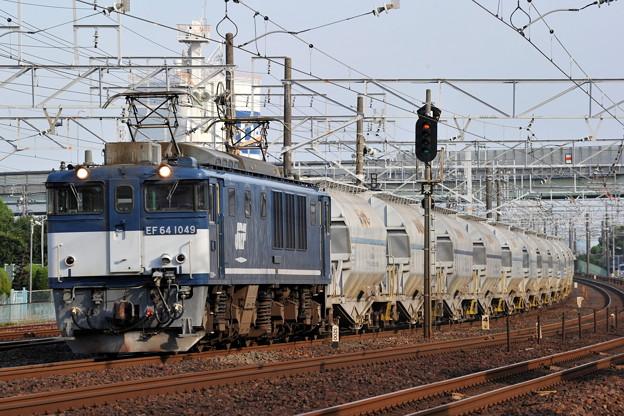 EF64-1049 5767レ 東海道本線 枇杷島ー清州