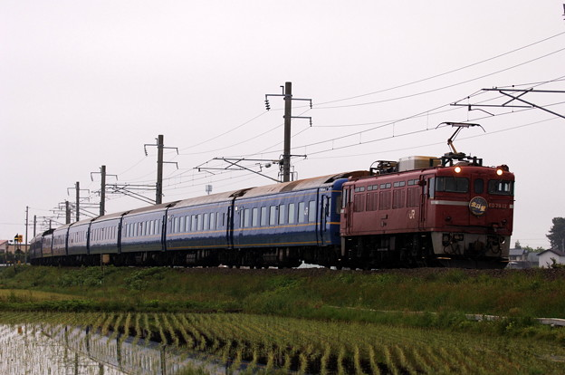 ED79-12 寝台特急 北斗星 津軽海峡線
