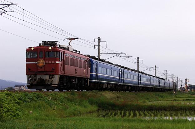 ED79-20 寝台急行「はまなす」 津軽海峡線