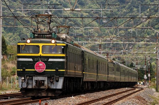 EF81-104 トワイライトエクスプレス 北陸本線 新疋田