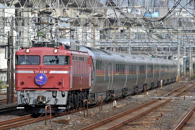 EF81-81 カシオペア 東北本線 東十条駅付近