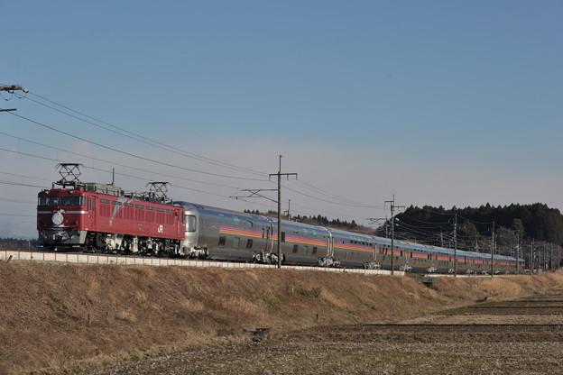 EF81-97 カシオペア 東北本線 矢板~片岡