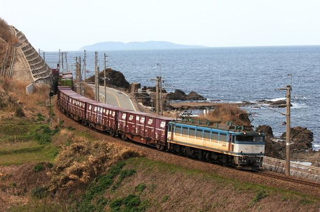 EF81-455 羽越本線 吹浦~女鹿