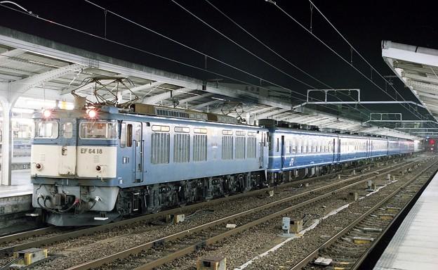 Photos: EF64-18 急行ちくま  名古屋駅   JR貨物受持ち