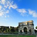 写真: コンスタンティヌスの凱旋門