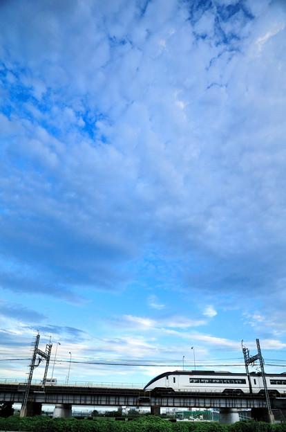 荒川橋梁サイドビュー