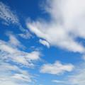 写真: 深い空の色へ