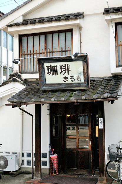 なまこ壁の喫茶店