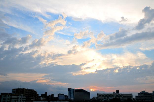 Photos: 下町夕景