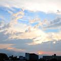 写真: 下町夕景
