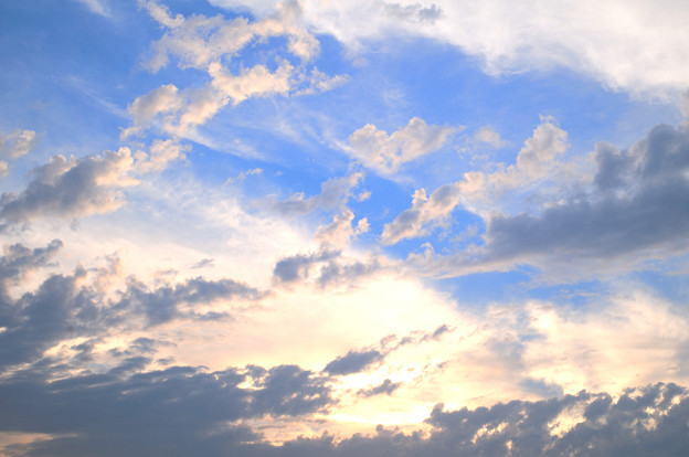雲の向こうの輝き