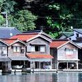写真: 舟屋