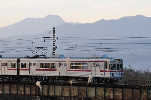 夕暮れ列車