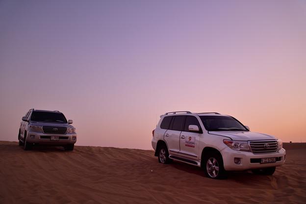 Photos: 砂漠に止まった時間