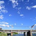 Photos: 荒川橋梁を渡る京成電車