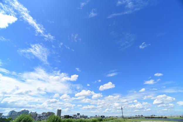 広がる青空