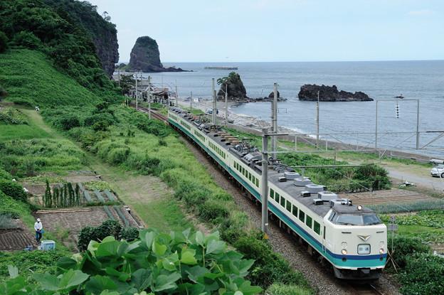 羽越本線485系電車