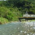 Photos: 渓流を行く