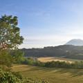 Photos: 羊蹄山が見える丘